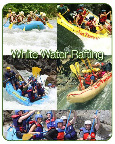 Costa Rica White Water Rafting Trips